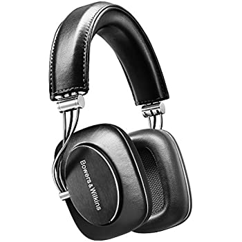 Bowers & Wilkins P7 Wired Over Ear Headphones, Black