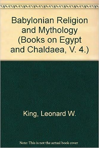 Amazon com: Babylonian Religion and Mythology (Books on