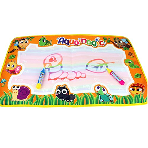 Coolplay Aqua Doodle Mat Magic Pen Children Drawing Toys Educational for 1-6 Yearls Old Little Artist Painter 14.2 X23.2inch