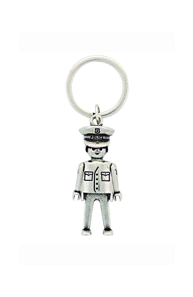 Llavero Playmobil Policía tamaño pequeño (Producto Oficial)