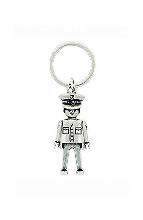 Llavero Playmobil Policía tamaño grande (Producto Oficial ...