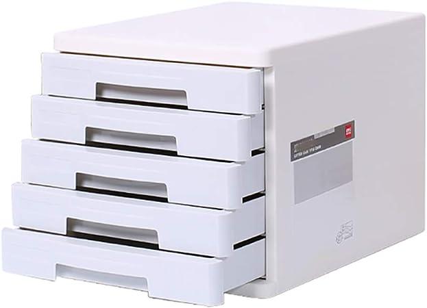 ZCCWJG Archivadores Tipo de cajón Caja de Almacenamiento A4 Escritorio pequeño gabinete de Datos Muebles de Oficina Archivador de Estudiantes: Amazon.es: Hogar