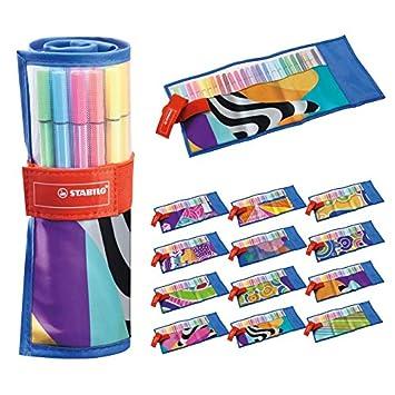 Retuladores Stabilo Pen 68 Rollerset (estuche 25 colores)