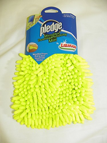 Libman Pledge Microfibre Dusting & Polishing Mitt Microfiber