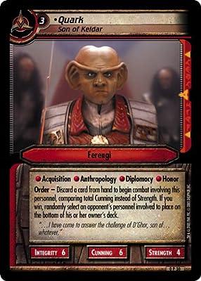 Son of Keldar Star Trek CCG 2E FOIL 0P30 Quark