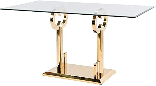 Amazon Com We The Best Home Dj Khaled Major Key Bar Table Gold