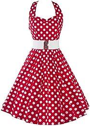 Amazon.com: Polka Dot - Dresses / Clothing: Clothing Shoes &amp Jewelry