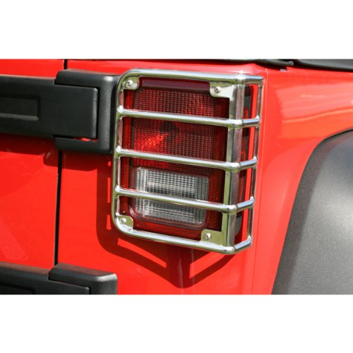 Rugged Ridge 11103.03 Stainless Rear Euro Taillight Guard – Pair