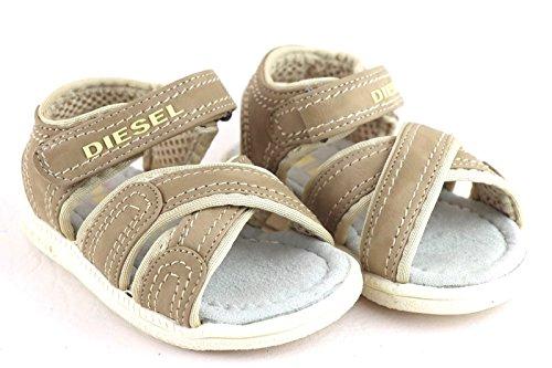Diesel Sportposh Hippy Beige BABYSHOE Babyschuhe Junge Größe/Size : EU 22/US 5,5