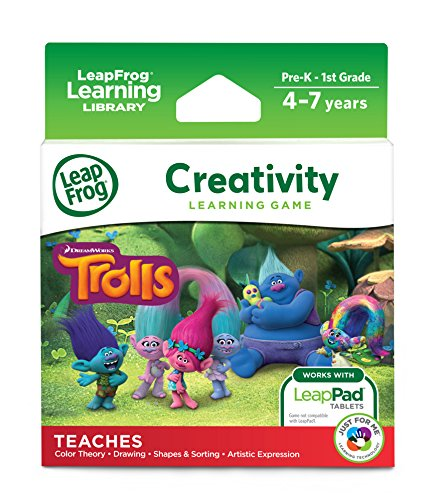 LeapFrog LeapPad Trolls (Leapfrog Learning Friends Preschool Adventures Learning Game)
