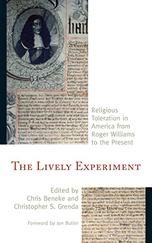 Download The Lively Experiment: Religious Toleration in America from Roger Williams to the Present Pdf
