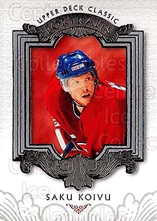 4d0dddf89 Amazon.com  (CI) Saku Koivu Hockey Card 2003-04 UD Classic Portraits ...