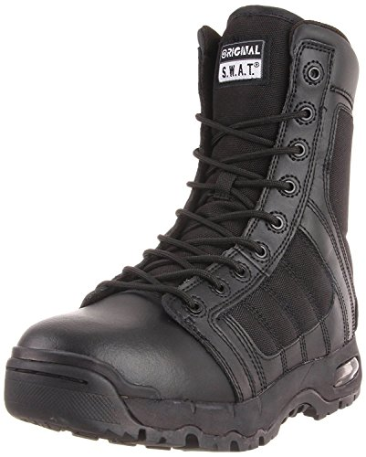 Original S.W.A.T. Men's Metro Air 9 Inch Side Zip Tactical Boot,Black,6.5 M US (Swat Vest Paintball)