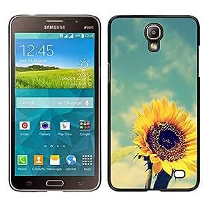 All Phone Most Case / Lindo Foto Caso Duro Carcasa Estuche de protectora / Hard Case for Samsung Galaxy Mega 2 // girasol viñeta amarilla verano