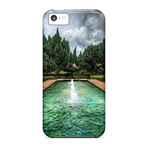 Anti-scratch And Shatterproof The Garden Phone Case For Iphone 5c/ High Quality Tpu Case