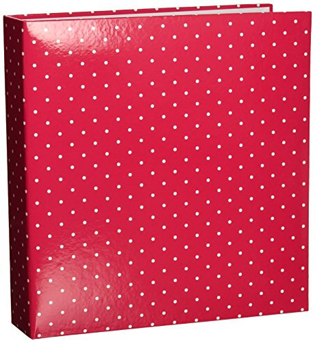 Project Life Album, 6 by 8-Inch, Red Polka Dot