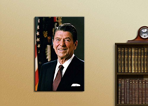 Portrait of President Ronald Reagan Inspirational Famous People Series