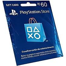 Cartão Psn R$ 60 Reais Brasil - Playstation Network Brasileira Br