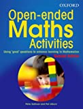"""Open-Ended Maths Activities - Using """"good"""" questions to enhance learning in mathematics"""