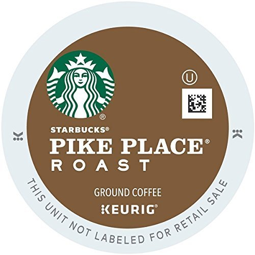 Starbucks Pike Place Roast, K-Cup for Keurig Brewers (84 Count) - Packaging May Vary