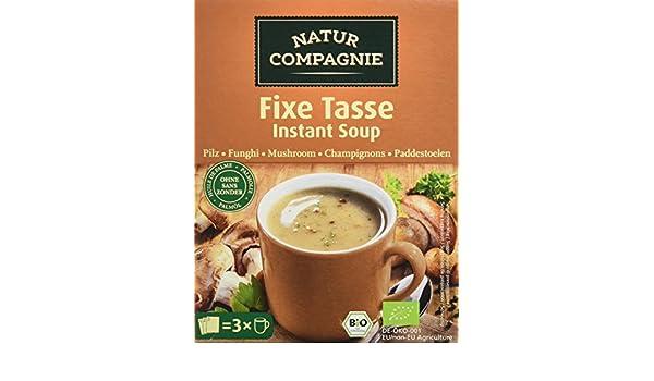 Natur Compagnie Sopa Instantánea Champiñón Bio - 51 gr: Amazon.es: Alimentación y bebidas