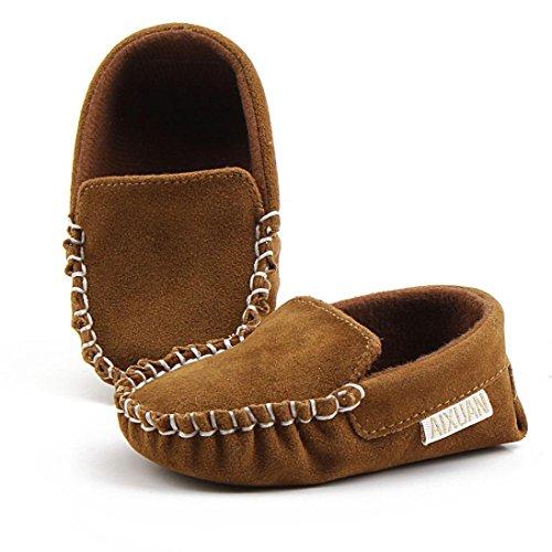 Kleinkind Schuhe,Chshe Baby Girls Double Velour Soft Sole Schuh Soft Schuhe Flats Schuhe Braun