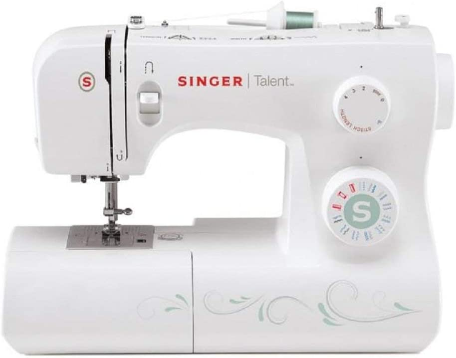 Singer Talent 3321 Máquina de Coser, Blanco, 45,7 x 22,2 x 35,6: Amazon.es: Hogar