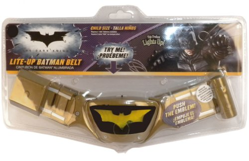 [Lite-Up Batman Belt Child Size Costume Accessory] (Man Of The Nights Watch Costume)