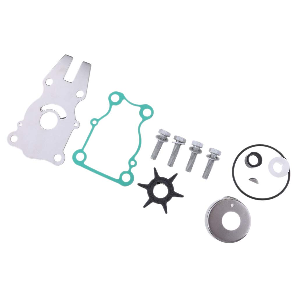 perfk Water Pump Impeller Kit For Yamaha F30 F40 30 40 HP Outboard 6BG-W0078-00