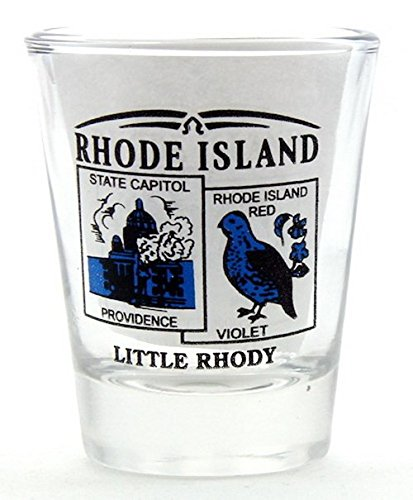 Rhode Island State Scenery Blue New Shot Glass