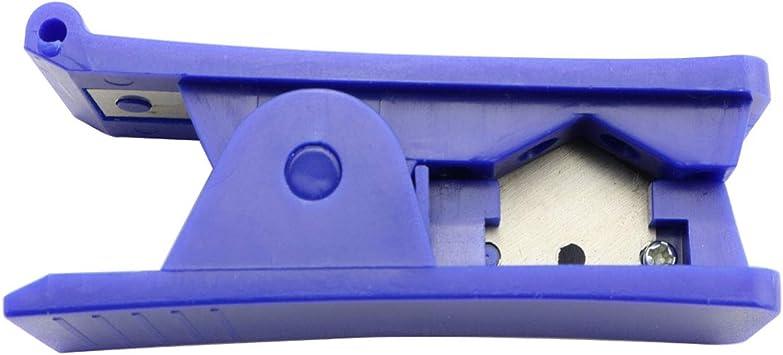 DZS Elec cortador de manguera portátil, herramienta de corte manual para cortar purificador de agua de PU/PE, filtro ...