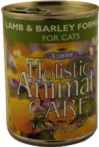 Azmira CATLBCATFOOD Lamb and Barley Cat 13.2 oz, My Pet Supplies