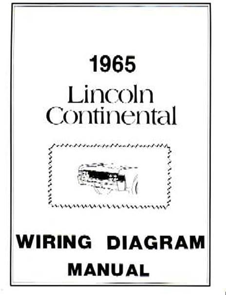 bishko automotive literature 1965 lincoln continental electrical wiring  diagrams schematics manual book oem: automotive - amazon.com  amazon.com