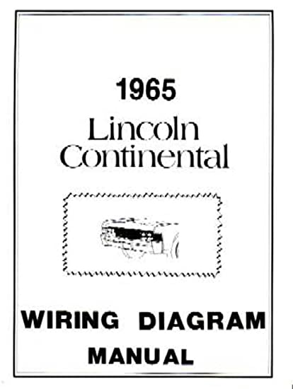 amazon com bishko automotive literature 1965 lincoln continental Electrical Wiring Notes amazon com bishko automotive literature 1965 lincoln continental electrical wiring diagrams schematics manual book oem automotive