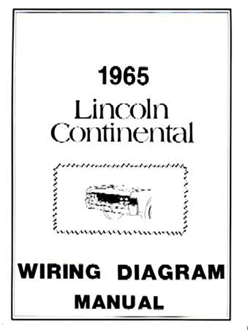 image unavailable  image not available for  color: bishko automotive  literature 1965 lincoln continental electrical wiring diagrams