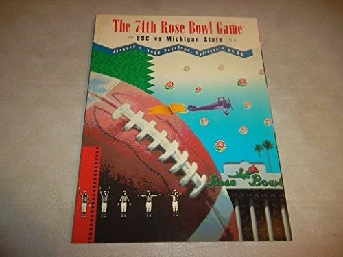 The 74th Rose Bowl Game USC vs Michigan State (January 1, 1988 Pasadena, ()
