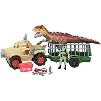 Amazon Com 100 Piece Dinosaur And Cave Man Prehistoric