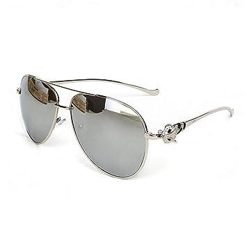 Z&YQ Gafas de sol cabeza de zorro tortugas de metal hombres ...