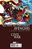 All New All Different Avengers #8 Mayhew Civil War Var Aso