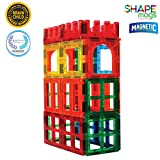 Award Winning Magnetic Stick N Stack 24 Piece Window, Fences and Doors Set. Made with Power+Magnets
