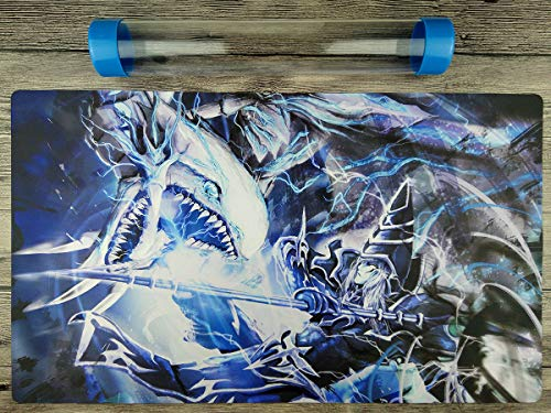 Blue-Eyes White Dragon & Dark Magician YuGiOh Playmat Free Tube