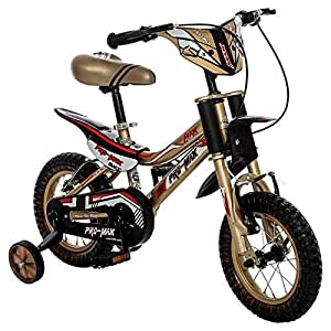 Bronco Pro Max DXBIC026 Steel Road Bike, Golden & Black