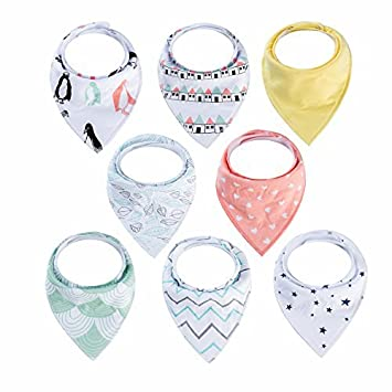 Amazon.com: Baberos bandana para niños – CARLY Shop Unisex 8 ...