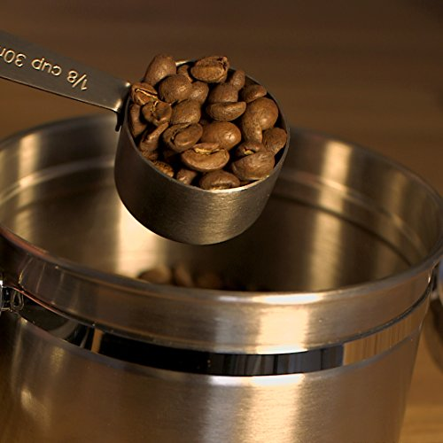 BEST Coffee Grinder Brush and Scoop by Coffee Gator. Premium Quality by Coffee Gator (Image #4)