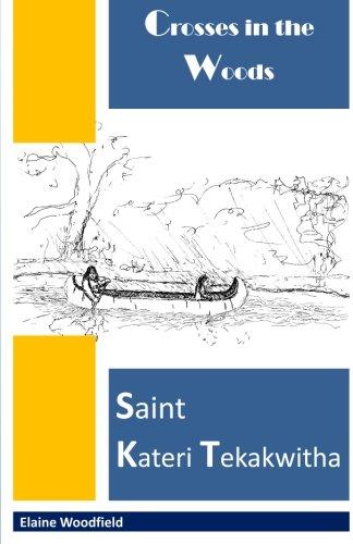 Crosses in the Woods: Saint Kateri (Woodfield Black Wood)