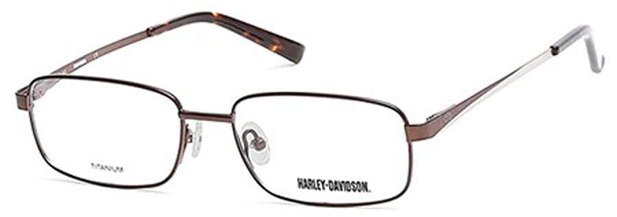 HARLEY DAVIDSON Eyeglasses HD0747 049 Matte Dark Brown 54MM at ...