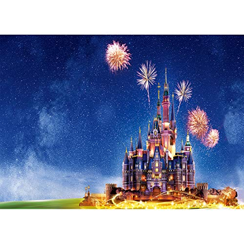 - Photography Backdrop Disney Castle 7x5 Seamless Vinyl Photo Background Starry Night Firework 2019 Backdrops for Pictures