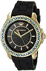 Juicy Couture Women's 1901338 Analog Display Quartz Black Watch