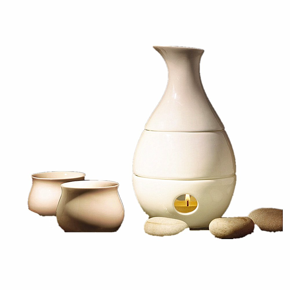 Ceramic Sake Pot Wine Set White Wine Yellow Wine Temperature Warm Pot nano R5