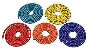 Sparset - Fünf farbige Springseile - 3 Meter Länge